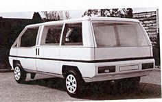 OG | Matra-Chrysler SuperVan | The first MPV mock-up designed by Matra which will result to Renault Espace.