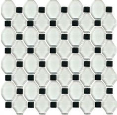 Secret Bianco mozaika szklana Mozaika szklana - 29,8x29,8 - Secret / Edeno