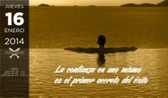 La confianza en uno mismo es el primer secreto del éxito. Efecto Anchoa