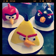 Kids Birthday Cakes « Sweet & Saucy Shop. Angry Birds