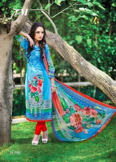 Buy Multicolor printed cotton unstitched salwar with dupatta Online.  wholesalemarketmumbai.com mumbai · Designer dress material 883536813