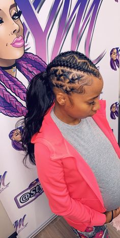 You have a lot of short hairdos to embellish your self that you will discover them actually enticing and engaging as compared to your same old made directly long hair. Lil Girl Hairstyles, Weave Ponytail Hairstyles, Ponytail Styles, Baddie Hairstyles, Sleek Ponytail, African Braids Hairstyles, Curly Hair Styles, Natural Hair Styles, School Hairstyles