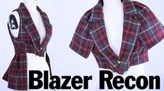 Back to School Style Blazer Recon, ThreadBanger How To..  This is my next DIY project.. Thrift store here I come!!!!!!!