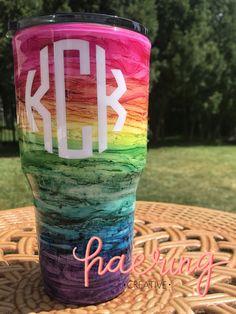Beach Tumbler Beach Cup Storm Double Walled Insulated