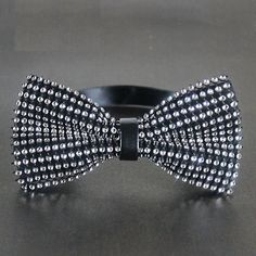 only 22$,Mens Diamond-studded Bowties Mens Neckties Men's Crystal Bow Ties - Fashion Self ties Retro Cotton Bowties Wedding Bow Ties for Men