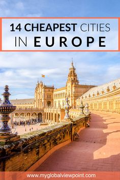Attention trailblazers: Want to explore Europe's hidden gems this summer? Want t… – Best Europe Destinations Cheap European Cities, Cities In Europe, Europe Destinations, Europe Travel Tips, European Travel, Budget Travel, Travel Guides, Travel Deals, European Vacation