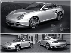 Porche 911 Turbo. I will take one of THOSE, please!