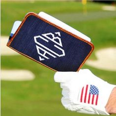 Smathers and Branson Monogrammed Golf Scorecard Holder Look good whether over or under par with these Needlepoint Golf Scorecard Holders These Needlepo Monica Smith, Golf Scorecard, Personalized Graduation Gifts, Towel Wrap, Masculine Style, Monogram Letters, Lower Case Letters, Groomsman Gifts, Gifts For Girls
