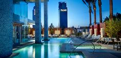 Las Vegas is hell on earth in the best way possible. That's why we suggest the Palms Place Resort and Spa, located within the colossal Palms Casino Resort. It's off-strip, but that just means you won't have to mess with the typical tourist traps. It also gives you access to N9NE (the best steakhouse in town) and the one and only Playboy Club.