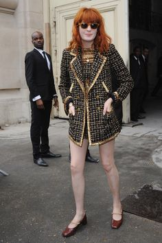 Florence Welch media gallery on Coolspotters. See photos, videos, and links of Florence Welch. Estilo Florence Welch, Florence Welch Style, Blake Lively, Chanel Resort, Florence The Machines, Tweed Coat, Fashion Days, Boho Chic, Celebrity Style