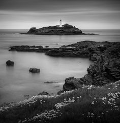 Godrevy Point Lighthouse by Chris Sargent, via 500px