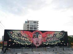 """Lolo.ys aka lauren YS, """"Monomania"""" in Miami, Florida, USA, 2016"""