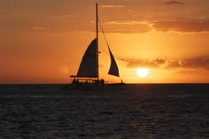 Sunset Sailing by Fort Zack, Key West. 2014