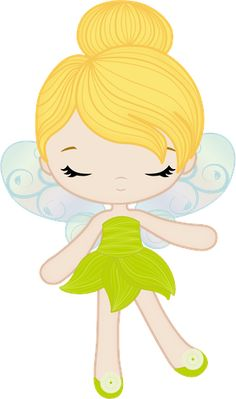 Princesas e Príncipes - playing fairy green open eyes by lostanhellcreations. Fairy Clipart, Cute Clipart, Peter Pan And Tinkerbell, Tinkerbell Party, Clip Art, Cute Images, Baby Disney, Christmas Angels, Felt Crafts