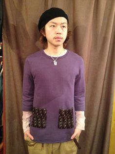Nasngwam/SUNLIGHT 2/3 SWEAT(knit pocket)/11,550円