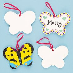 'Fl-utterly' fabulous hanging ceramic butterflies to decorate