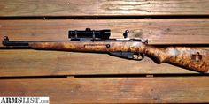 ARMSLIST - For Sale: M44 Mosin Nagant Scout Rifle, Leupold Scope, Finn Stock