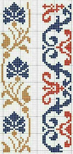 Thrilling Designing Your Own Cross Stitch Embroidery Patterns Ideas. Exhilarating Designing Your Own Cross Stitch Embroidery Patterns Ideas. Cross Stitch Bookmarks, Cross Stitch Borders, Crochet Borders, Cross Stitch Charts, Cross Stitch Designs, Cross Stitching, Cross Stitch Patterns, Folk Embroidery, Learn Embroidery