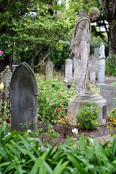Cemetery Gardens in the Mission District by Jeremy Brooks, via Flickr