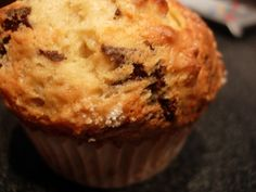 Muffins banane chocolat en version allégée