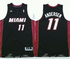 Chris Birdman Andersen Miami Heat Adidas REV 30 Swingman Jersey (MSRP $110)