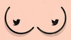 """Client: ADWEEK (May 2015)  Title: Twitter boobs """"Twitter's Porn Problem Freaked out Brands"""""""