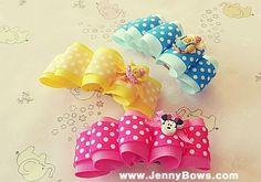 분당리본공예JennyBows www.JennyBows.com / 스토리 채널 Bows80 버블헤어핀