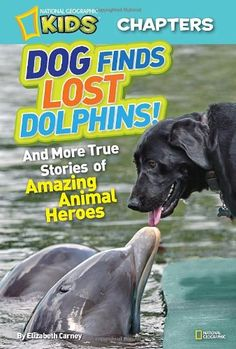 In this charming and awe-inspiring story you'll meet Cloud, the black lab with a nose for rescue. She's the only dog certified to sniff out stranded dolphins. Cloud can sniff out a dolphin over a mile off the coast of the Florida Keys. She's even become friends with them, waiting on the dock for them to pop up and give her a kiss. This and two more amazing stories are so engaging, readers will never want to put the book down!