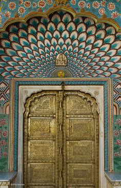 brass door - Jaipur palace, India | Flickr - Photo Sharing!