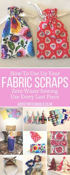 Scrap Fabric Projects, Small Sewing Projects, Sewing Projects For Beginners, Fabric Scraps, Sewing Tutorials, Sewing Crafts, Sewing Patterns, Sewing Tips, Sewing Ideas