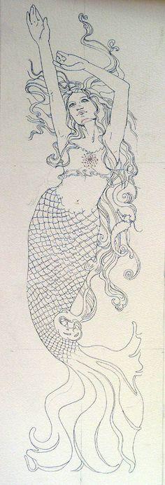 Art Nouveau Classwork | Jeannie Vodden Art