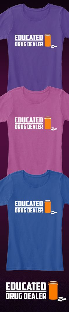 Are you a Pharmacist? Show off your Pharmacist Pride with this awesome Pharmacist t-shirt that you will not find anywhere else! Not sold in stores and only 2 days left for free shipping! Grab yours or gift it to a friend, you will both love it