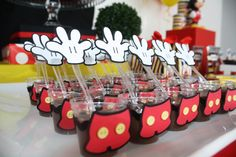 Festa Mickey Baby, Mickey Mouse Birthday Theme, Minnie Mouse Birthday Decorations, Fiesta Mickey Mouse, Theme Mickey, Mickey Mouse Parties, Minnie Mouse Cake, Mickey Party, First Birthdays