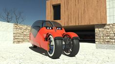 10   This Awesome Concept Car Splits Into Two Motorcycles   Co.Design   business + design