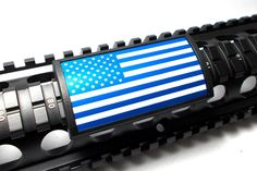 Handguard Rail Cover: United States Flag-Blue - Large (LEA)
