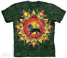 koszulka THE MOUNTAIN - ONE LOVE BATIK, barwiona - sklep RockMetalShop.pl