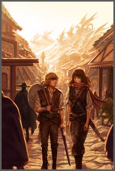 The pale-haired boy and the bruised girl stood in the street ahead of him. If he hadn't known any better, Markus would have suspected that they were just two ordinary teenagers, lost amongst the crowd. If only that was what they were. If only such heavy burdens didn't lay upon both of their shoulders, grinding them into the ground. A prince and a Queen. What a terrible existence. {Sophie Jones}