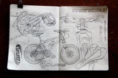 Рисовальный флешмоб: результаты зарисовок велосипедов: conjure