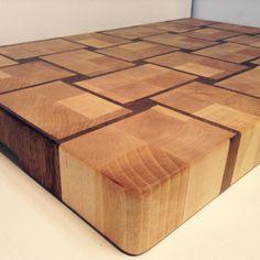 Steven Polak | End grain cutting board in advanced pattern