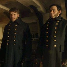 #RonanRaftery as Lt. #JohnIrving & #MatthewMcNulty as Lt.... - theterror_fan