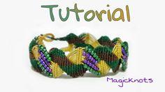 Macrame Zig Zag Bracelet ♥ DIY ♥