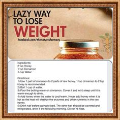 Weight loss tips very effective green smoothies pinterest cinnamon and honey weight loss ccuart Choice Image