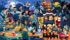 Cherche et trouve Happy Halloween