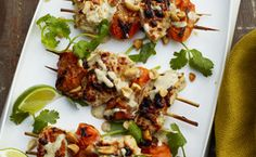 Chicken-Apricot Skewers / Christopher Baker