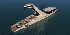 Shaddai Yacht Concept by Gabriele Teruzzi