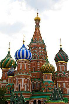 onion domes of russia - Google Search