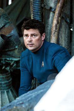 """Karl Urban as Leonard """"Bones"""" McCoy in Star Trek Beyond (2016)"""