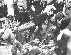 demonstration ban de bom Den Haag 1961