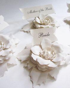 Carte di fiore posto carta festa nuziale