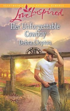 Her Unforgettable Cowboy (Cowboys of Sunrise Ranch Book 1) by Debra Clopton, http://www.amazon.com/dp/B00B0A70FM/ref=cm_sw_r_pi_dp_CaY8ub1XG1FW8